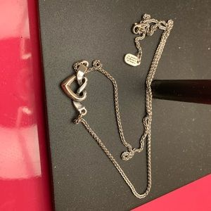 James Avery Double Heart Necklace